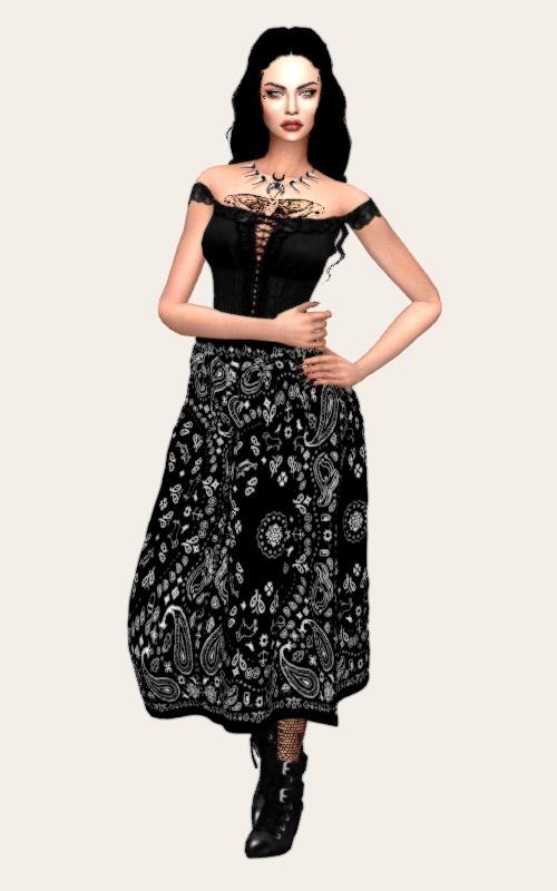 Nonaaa Sims: Followers gift   Zara