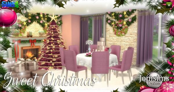 Jom Sims Creations: Sweet christmas