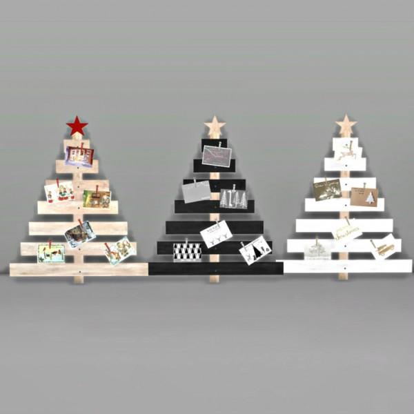 Leo 4 Sims: Decorative Christmas tree