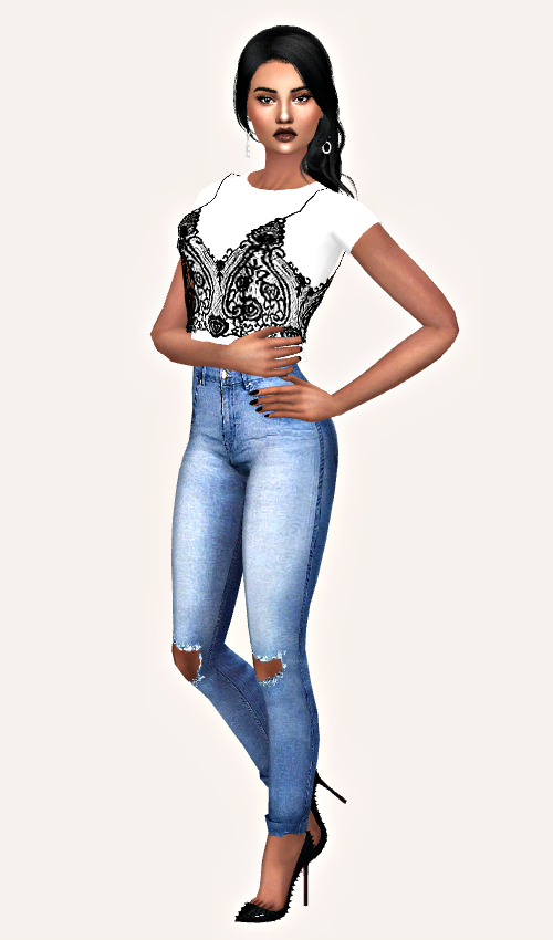 Nonaaa Sims: Nola sims model