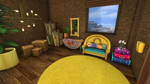 Ihelen Sims: Art Penthouse by Dolkin