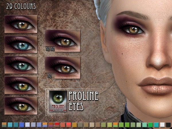 The Sims Resource: Proline Eyes by RemusSirion