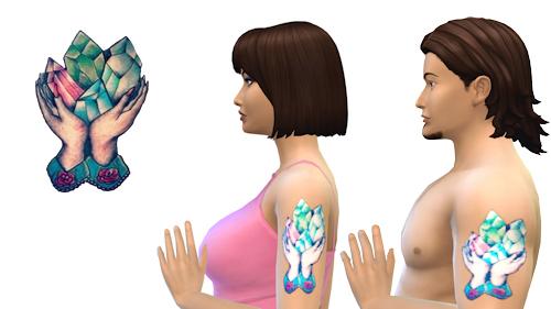 La Luna Rossa Sims: Something Special   Tattoo