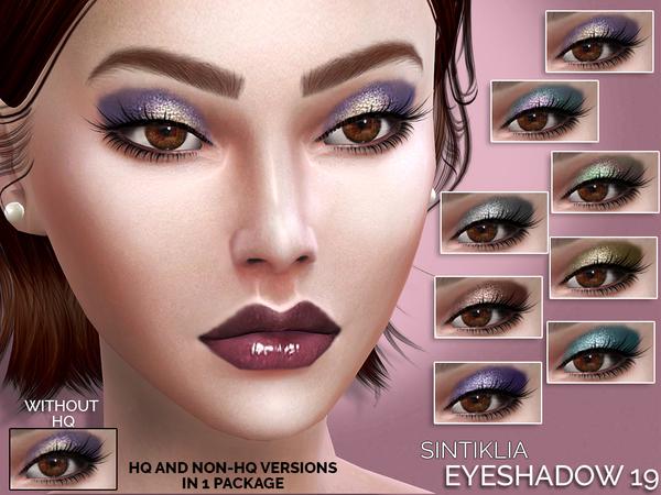The Sims Resource: Eyeshadow 19 by Sintiklia