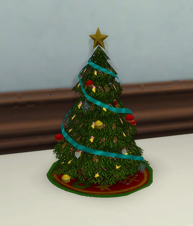 Simsworkshop: Small Holiday Tree Sculpture
