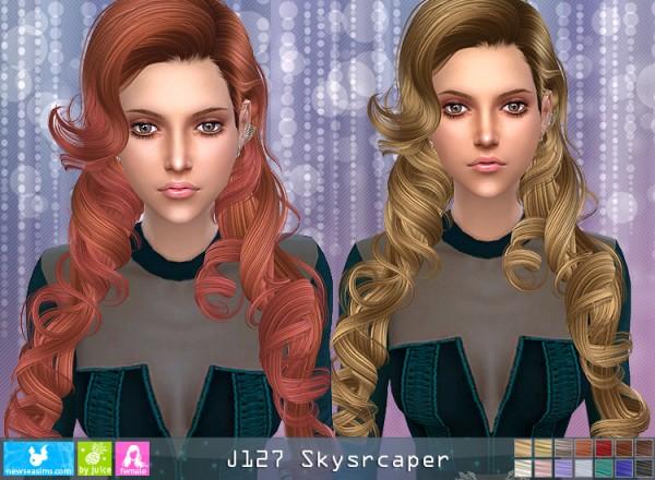 NewSea: J127 Skyscraper donation hairstyle