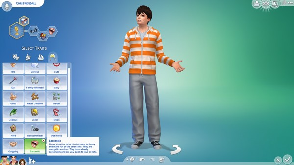 Mod The Sims: Sarcastic Trait by chingyu1023
