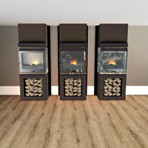 Leo 4 Sims: Kaminofen fireplace