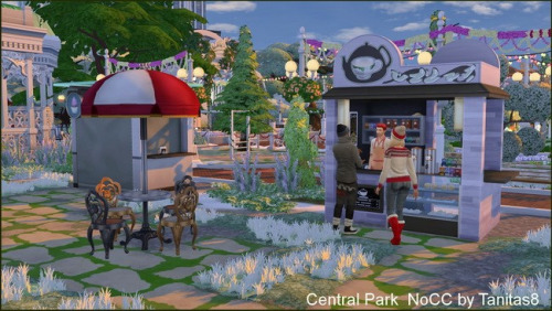 Tanitas Sims: Central Park noCC