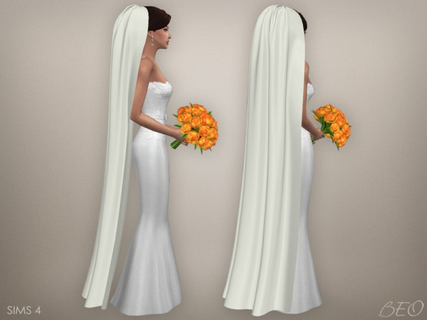 BEO Creations: Wedding veil 05