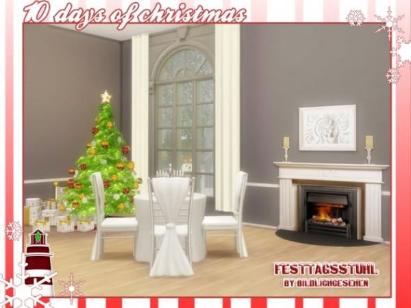 Akisima Sims Blog: Festive chair