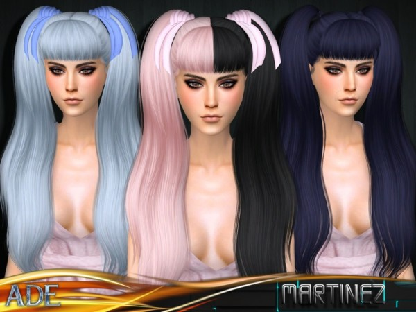 The Sims Resource: Ade   Martinez (With Bangs)