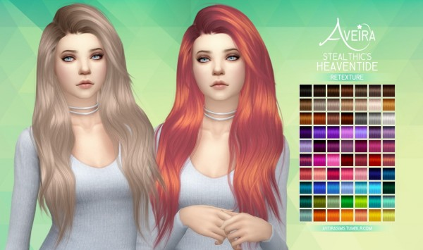 Aveira Sims 4: Stealthic's Heaventide   Retexture