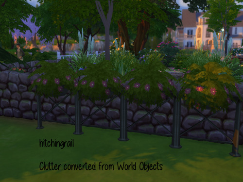Chillis Sims: Clutter for garden