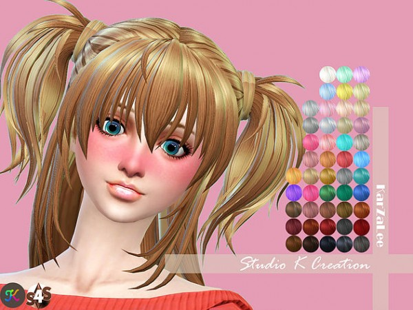 Studio K Creation: Animate hair 73   Hina for her