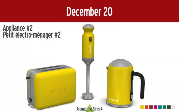 Around The Sims 4: Mini Food processor
