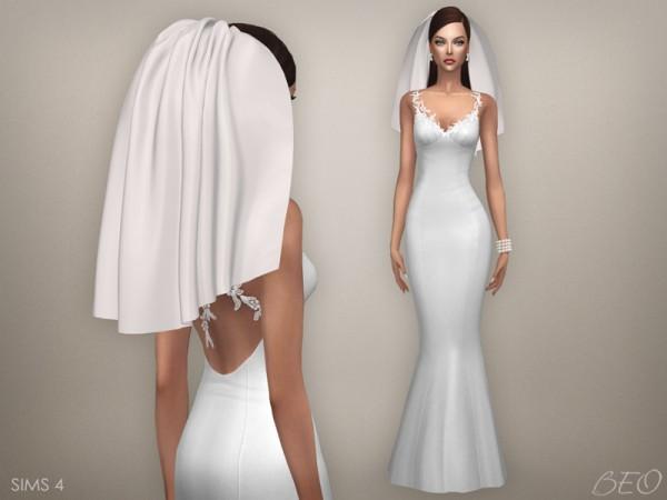 BEO Creations: Wedding veil 04