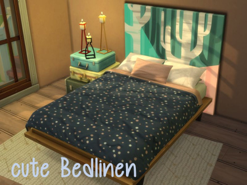 Chillis Sims: Cute Bedlinen