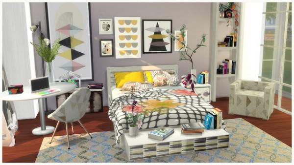 PQSims4: Ingrid bedroom