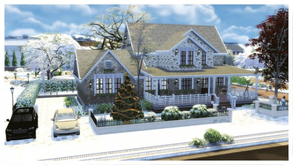 Dinha Gamer: American Christmas House