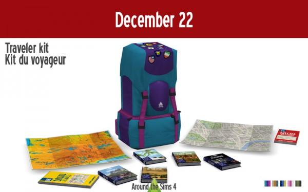 Around The Sims 4: Traveler kit
