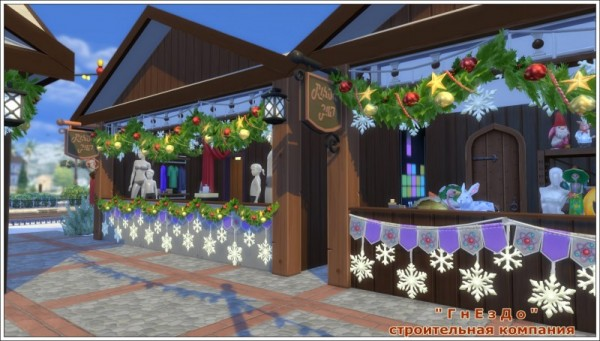 Sims 3 by Mulena: Karaoke   bar Santa