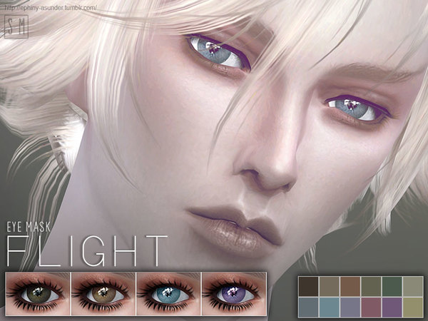 The Sims Resource: Flight   Eye Mask by Screaming Mustard