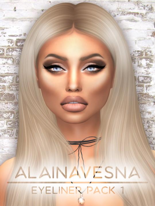 Alaina Vesna: Eyeliner Pack 1