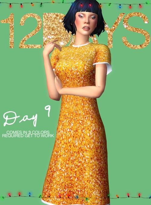 Ecoast: DAY 9: 1920s looking dress