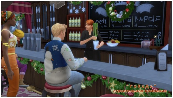 Sims 3 by Mulena: Karaoke   bar Santa