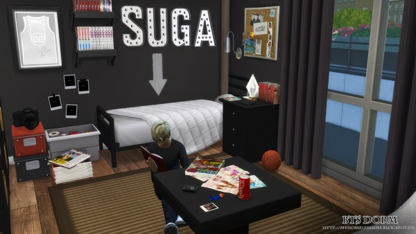 Homeless Sims Bangtan Boys House Sims 4 Downloads