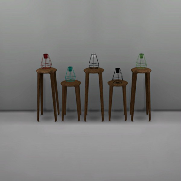 Leo 4 Sims: Candle holder