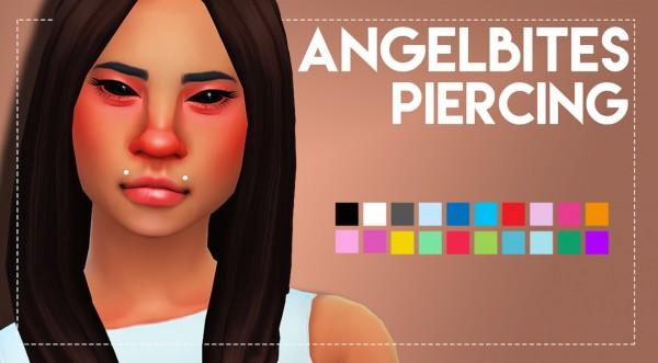Simsworkshop: Angelbites Piercing by Weepingsimmer