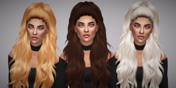 Aveline Sims: Anto Atenea retexture   naturals