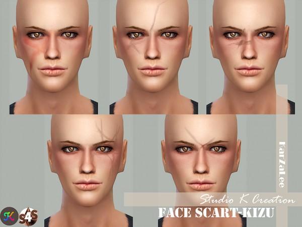 Studio K Creation: Face Scart   KIZU