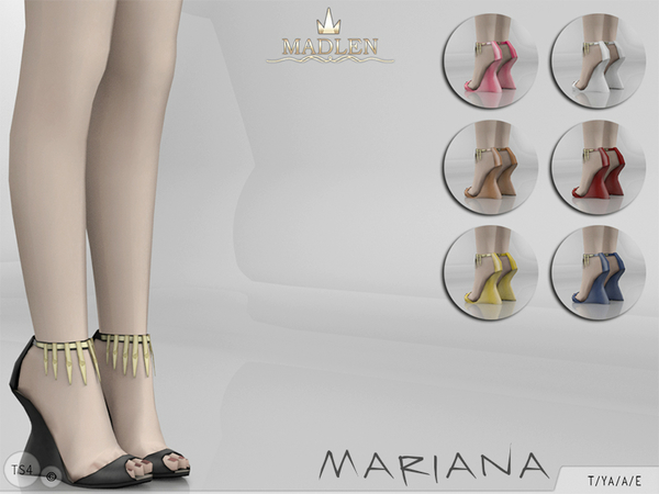 The Sims Resource: Madlen Mariana Shoes by MJ95