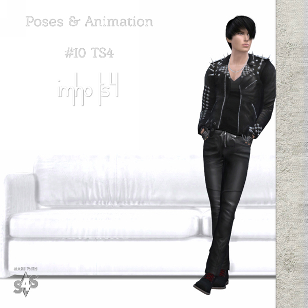 IMHO Sims 4: Poses & Animation 10