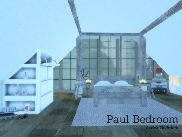 The Sims Resource: Paul Bedroom by Angela