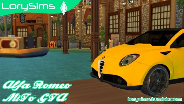 Lory Sims: Alfa Romeo MiTo GTA Concept