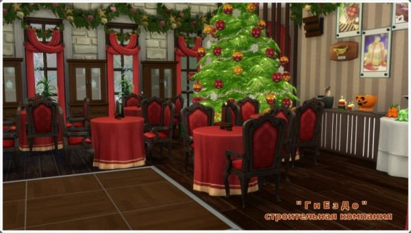 Sims 3 by Mulena: Restaurant  Snowball
