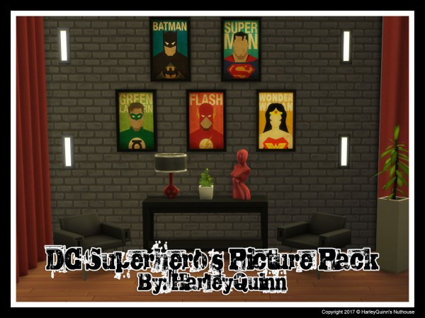 Harley Quinn Nuthouse: DC Superheros Picture Pack