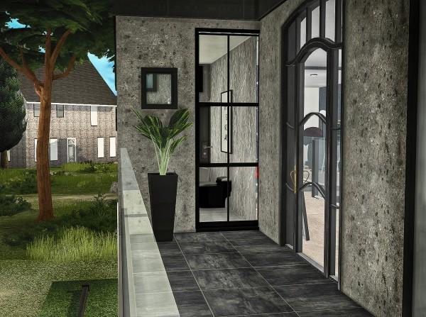 Sims 4 Designs: Falling Water Residence