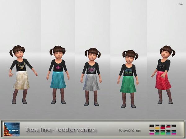 Elfdor: Dress Tina   toddler version
