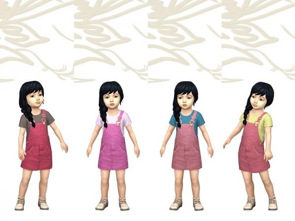Sims Artists: Salopette Schools by fuyaya