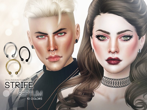 The Sims Resource: Strife Septum  by Pralinesims