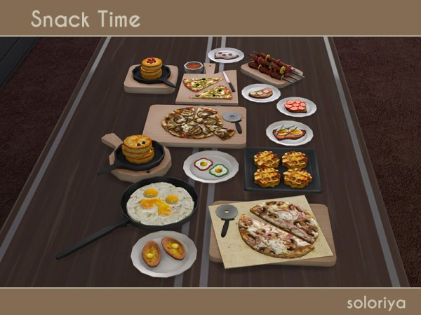 The Sims Resource: Snack Time by soloriya