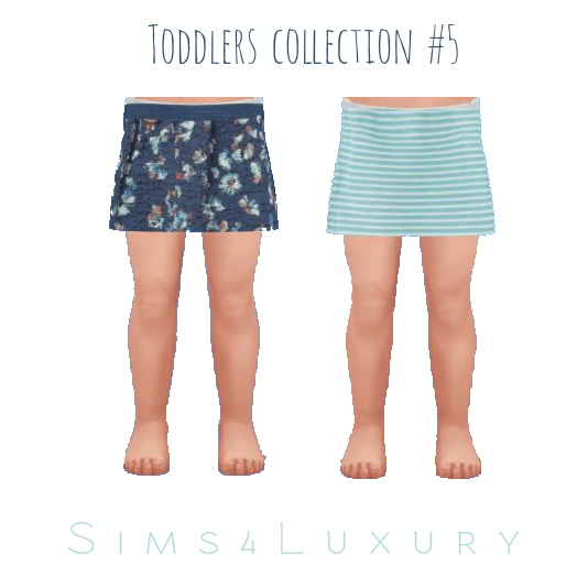 Sims4Luxury: Toddlers collection 5
