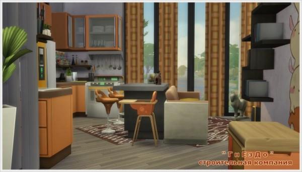 Sims 3 by Mulena: Simov Kubiks house