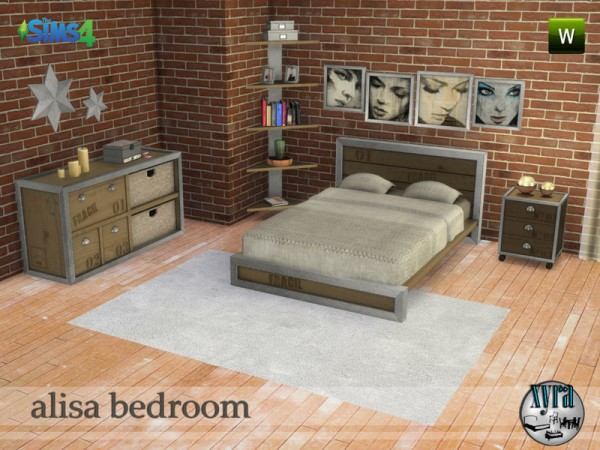 The Sims Resource: Alins bedroom set by xyra
