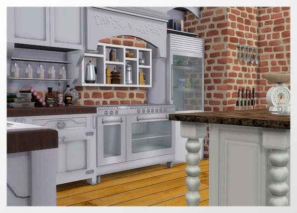 All4Sims: Country house kitchen by Oldbox